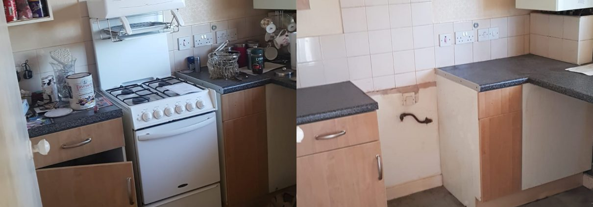 House clearance Mansfield by New Start Removals