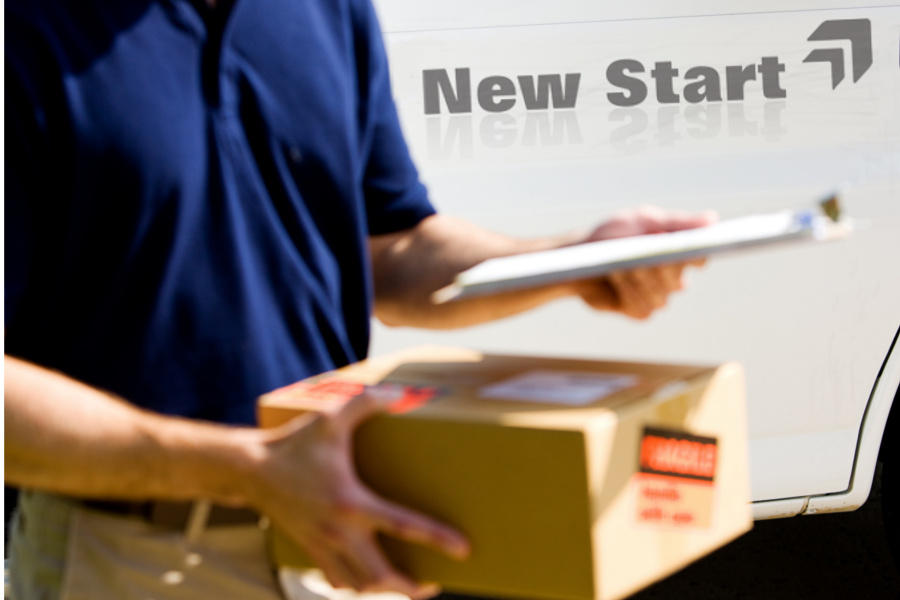 Man With a Van, Man and van deliveries by New Start Removals